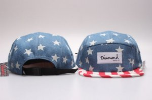 Boné 5 Panel Diamond Supply - EUA
