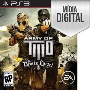 Army of Two: The Devil's Cartel - PS3 Mídia Digital