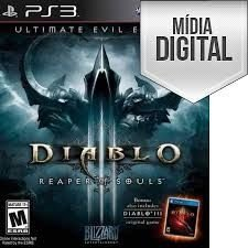 Diablo lll: Reaper of Souls (Ultimate Evil Edition) - PS3 Mídia Digital