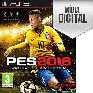 Pro Evolution Soccer 2016 (PES 16) - PS3 Mídia Digital
