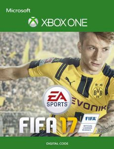 FIFA 2017 XBOX ONE PORTUGUÊS MÍDIA DIGITAL CÓDIGO 25 DIGITOS