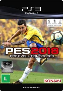 PES 2018 - Pro Evolution Soccer 2018 PS3  Mídia Digital