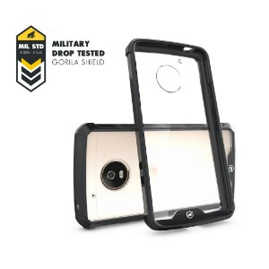 Capa Ultra Slim Air Preta para Motorola Moto G5 Plus - Gorila Shield