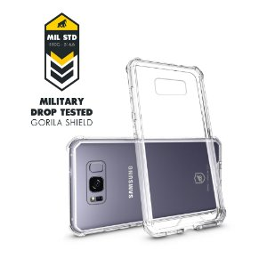 CAPA GALAXY S8 - ULTRA CLEAR - GORILA SHIELD