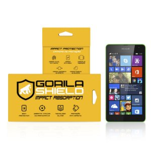 Película de vidro para Microsoft 535 – Double Protection – Gorila Shield