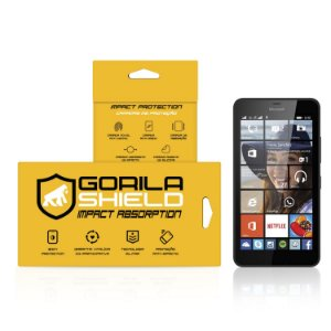 Película de vidro para Microsoft 640 – Double Protection – Gorila Shield