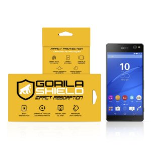 Película de vidro para Sony C5 Ultra – Double Protection – Gorila Shield