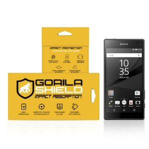 Película de vidro para Sony Z5 Premium – Double Protection – Gorila Shield