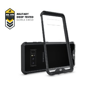 Capa Ultra Slim Air Preta para Galaxy Note 8 - Gorila Shield