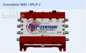 Chave Multiswitch MS5/8PLP-3 - Emp-Centauri