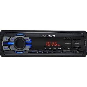 Som Automotivo Pósitron SP2210UB com MP3 Player FM com conexão USB e Leitor Micro SD-CARD