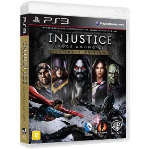 Jogo Injustice - Gods Amongus us Ultimate Edition - PS3