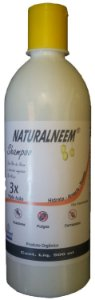 Shampoo Naturalneem anti pulgas e carrapatos 500 ml