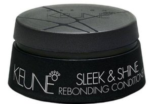 KEUNE DESIGN SLEEK & SHINE REBONDING CONDITIONER 200ML - MÁSCARA