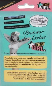 THAT GIRL PROTETOR DE AXILAS C/1 PAR