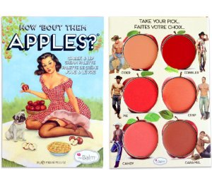 THE BALM HOW 'BOUT THEM APPLES? PALLET - PALETA BLUSH E BATOM
