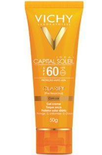 VICHY Capital Soleil FPS60 Clarify Com Cor 50gr