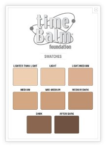 THE BALM TIME BALM FOUNDATION - BASE DE COBERTURA MÉDIA/ALTA