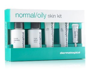 DERMALOGICA NORMAL/OILY SKIN KIT - KIT C/5 PARA PELE NORMAL A OLEOSA