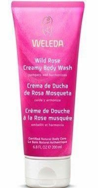 WELEDA WILD ROSE CREAMY BODY WASH 200ML - SABONETE LÍQUIDO