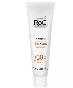ROC MINESOL FPS30 ACTIF UNIFY TINTED MOUSSE LIGHT 40G