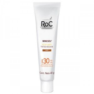 ROC MINESOL FPS30 ACTIF UNIFY TINTED MOUSSE DEEP 40G