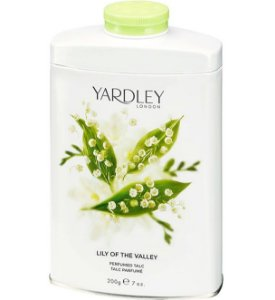YARDLEY OF LONDON Talco Perfumado Lily of the Valley 200g