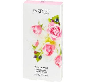 YARDLEY OF LONDON Sabonete Luxuoso English Rose 3x100g