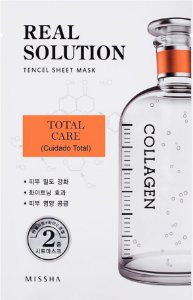 MISSHA Real Solution Tencel Sheet Mask Total Care - Cuidade Total