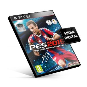 PES Pro Evolution Soccer 2015 - PS3 Mídia Digital