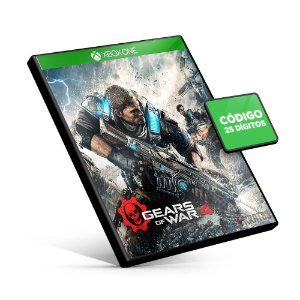 Gears of War 4 - Xbox One - Código 25 Dígitos