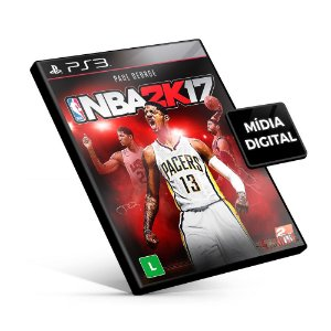 Nba 2K 17 - PS3 Mídia Digital