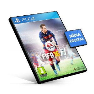 Fifa 16 - PS4 Mídia Digital