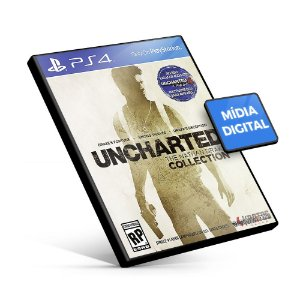 Uncharted The Nathan Drake Collection - PS4 Mídia Digital