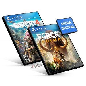 Far Cry Bundle - PS4 Mídia Digital