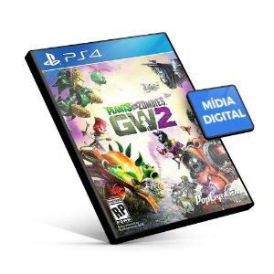 Plants Vs Zombies Garden Warfare 2 - PS4 Mídia Digital