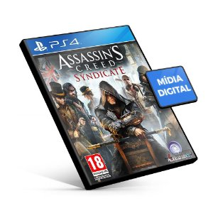 Assassin's Creed® Syndicate - PS4 Mídia Digital