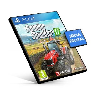 Farming Simulator 17 - PS4 Mídia Digital