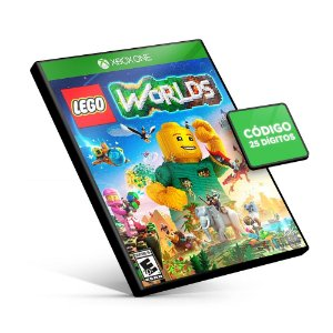 LEGO® Worlds - Xbox One - Código 25 Dígitos