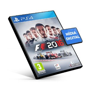 F1 2016 - PS4 Mídia Digital