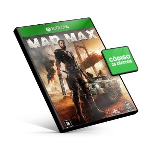 Mad Max - Xbox One - Código 25 Dígitos