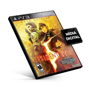 Resident Evil® 5 Gold Edition - PS3 Mídia Digital