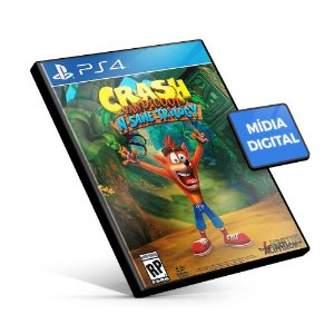 Crash Bandicoot™ N. Sane Trilogy - PS4 Mídia Digital