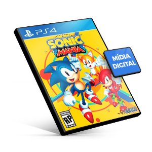 Sonic Mania - PS4 Mídia Digital