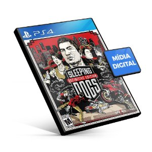 Sleeping Dogs Definitive Edition - PS4 Mídia Digital