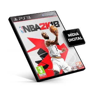 NBA 2K18 - PS3 Mídia Digital