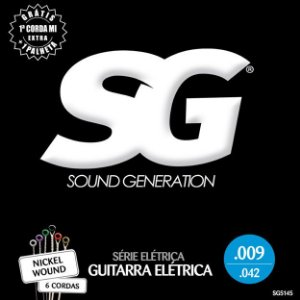 ENCORDOAMENTO P/GUITARRA (009) - SG5145 SG