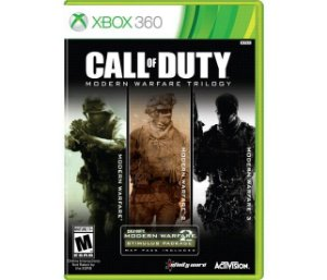 JOGO CALL OF DUTY TRILOGIA MODERN WARFARE - XBOX 360