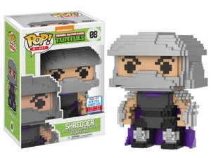 Funko Pop Vinyl NYCC 2017 - 8 Bits: TMNT Shredder
