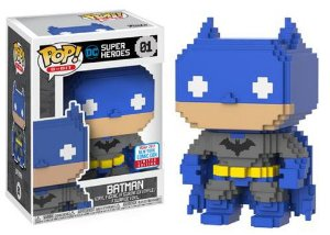 Funko Pop Vinyl NYCC 2017 - 8-Bit: Blue e Gray Batman